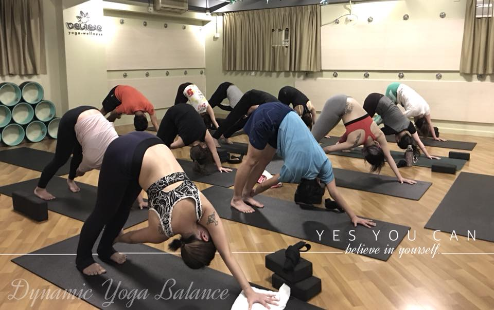believe yoga.wellness, one of the best boutique yoga studios in Hong Kong.