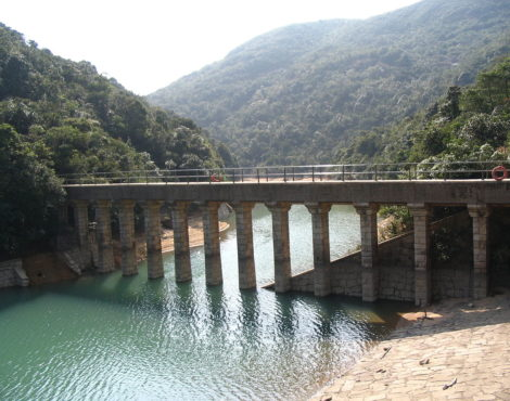The scenic Tai Tam Waterworks Heritage Trail