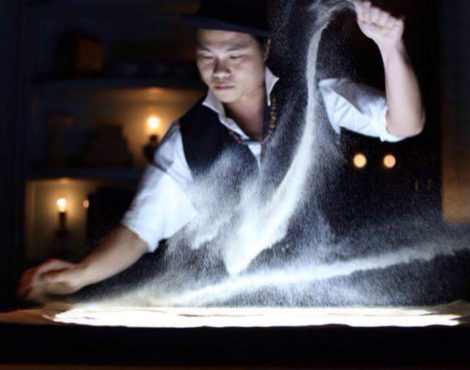 Hoi Chiu on the artistry of sand