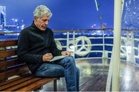 Anthony Bourdain filmed