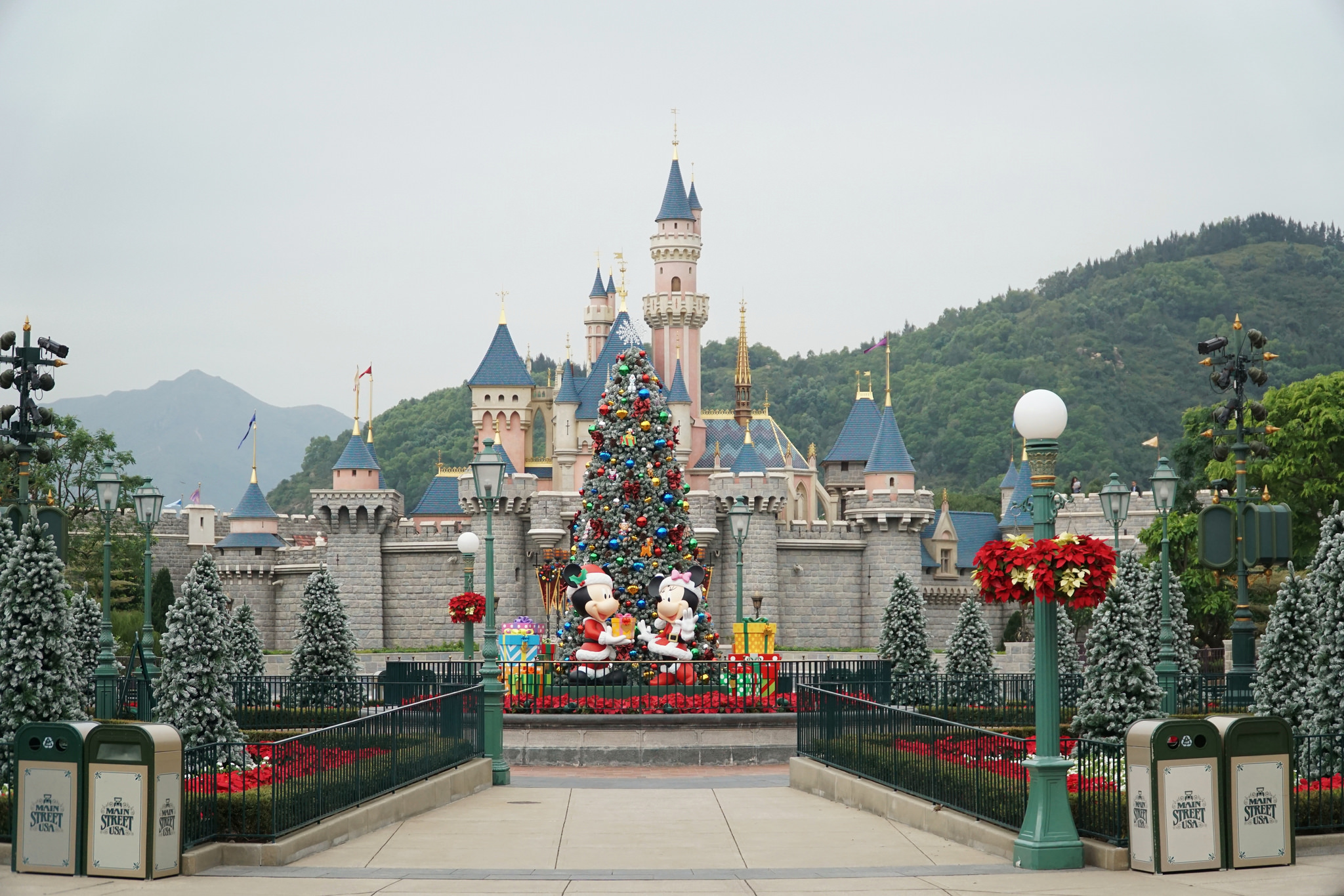 Head to a theme park like Hong Kong Disneyland.