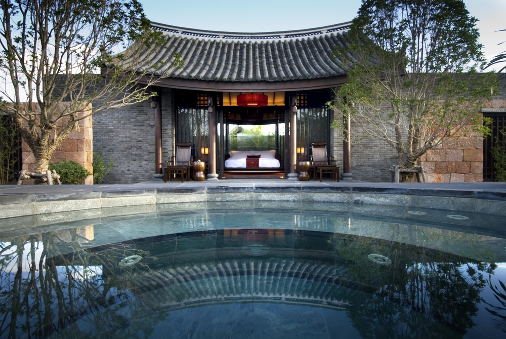 Naxi architecture at the Banyan Tree Lijiang. Photo: Banyan Tree