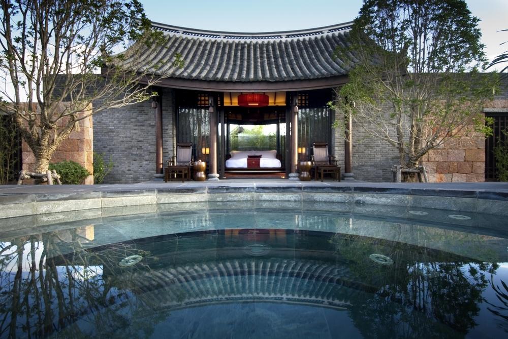Naxi architecture at the Banyan Tree Lijiang. Photo: Banyan Tree