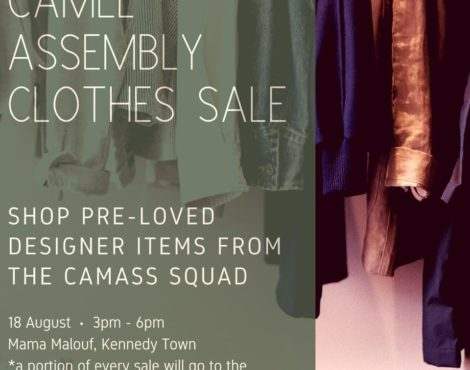 Camel Assembly Clothes Sale Aug 18, 2018