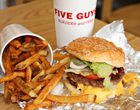 Burgers (and Peanuts) Galore! Five Guys is Coming to Hong Kong