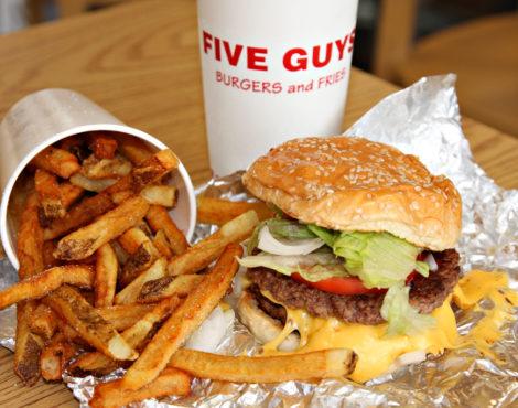 Burgers (and Peanuts) Galore! Five Guys is Coming to Hong Kong