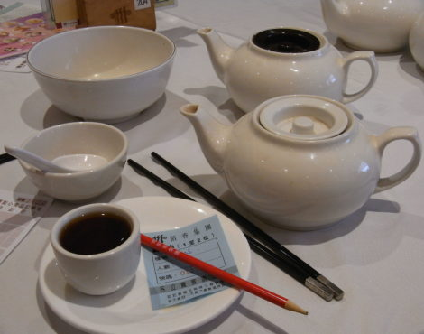 Why Do We Leave Tea Pot Lids Open at Dim Sum?