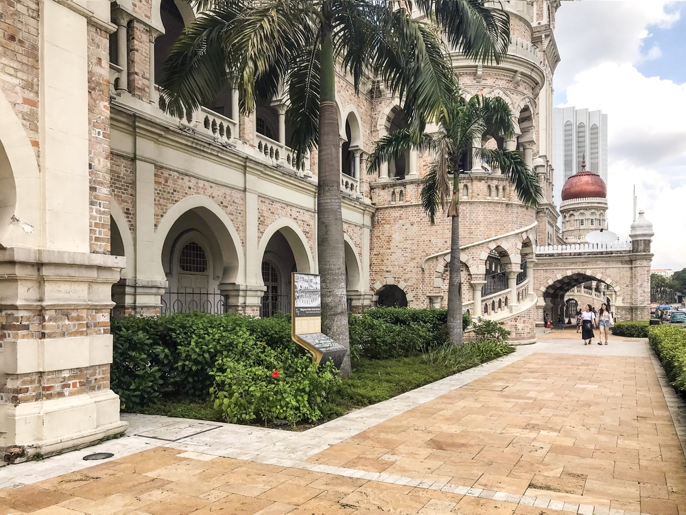 The Sultan Abdul Samad building in the historic center of Kuala Lumpur.