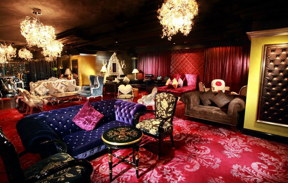 The Surrealist-inspired Dada Lounge & Bar at The Luxe Manor. Photo: The Luxe Manor / Facebook