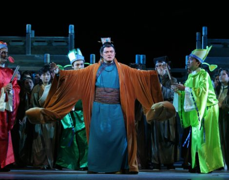 Feel the Passion with Hong Kong Opera's Turandot: October 10-14, 2018
