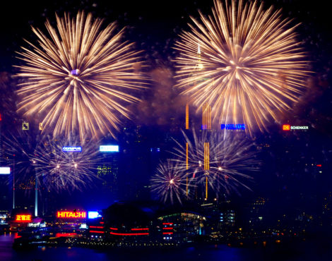 Where to Watch the 2018 Hong Kong National Day Fireworks