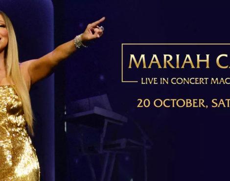Mariah Carey Live in Macau: October 20