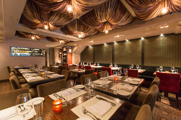 Olive, one of the best Middle Eastern restaurants in Hong Kong.