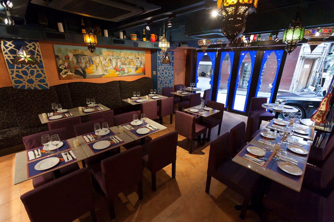 Le Souk, one of the best Middle Eastern restaurants in Hong Kong.