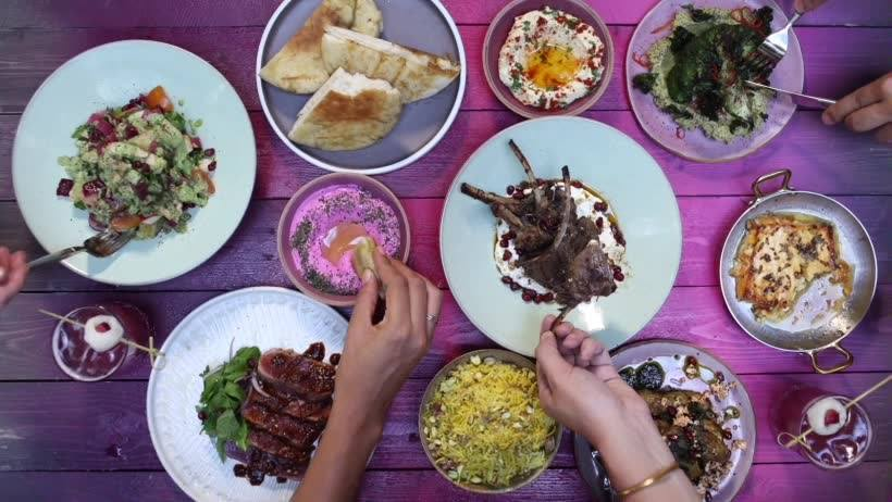 Bedu, one of the best Middle Eastern restaurants in Hong Kong.
