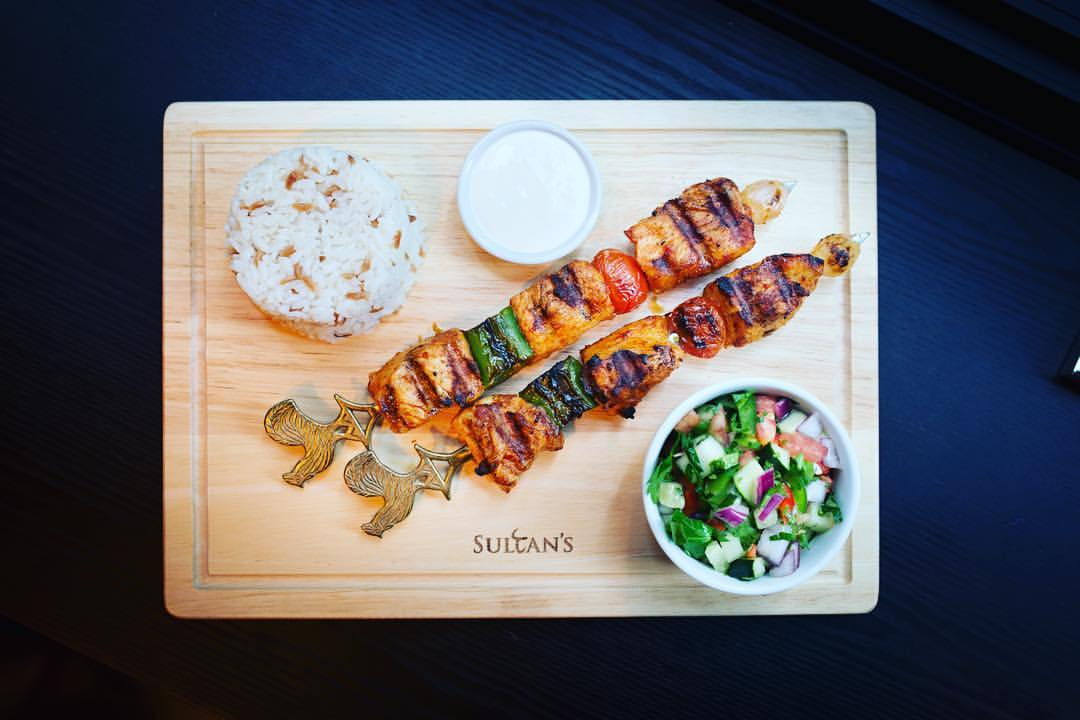 The Sultan's Table, one of the best Middle Eastern restaurants in Hong Kong.