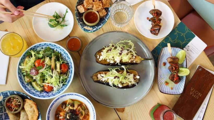 Uma Nota is one of our choices for the best Asian brunches in Hong Kong.