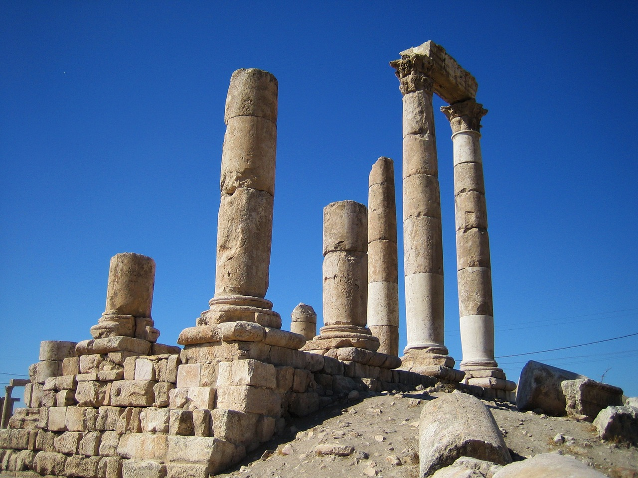 Amman, the capital city of Jordan.