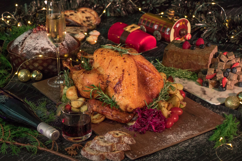 festive brunch at Hotel Icon