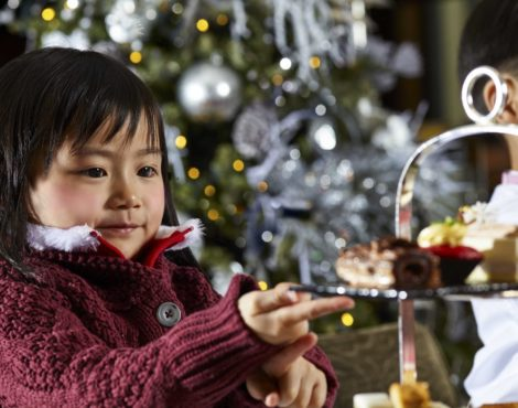 Indulge in a Festive Afternoon Tea at the Mandarin Oriental Hong Kong: December 1-26