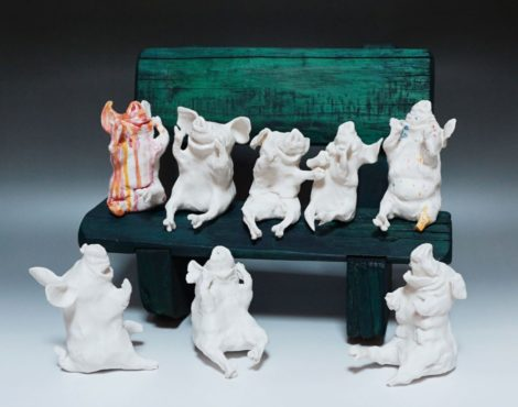 Takashi Hara's Pig Nation Exhibition at A2Z Art Gallery: January 12-February 17