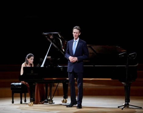 Ian Bostridge & Saskia Giorgini Perform Schubert: January 25-26