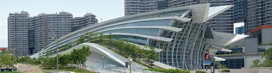 West Kowloon Station High Speed Rail