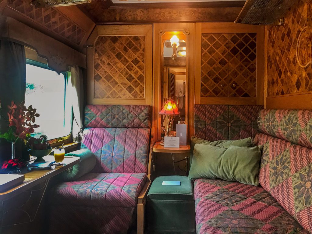 My Pullman Cabin aboard the Belmond Eastern & Oriental Express. Photo: Gayatri Bhaumik