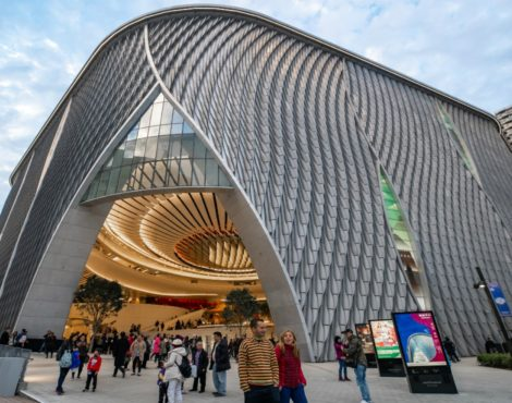 Xiqu Centre opens at West Kowloon Cultural District