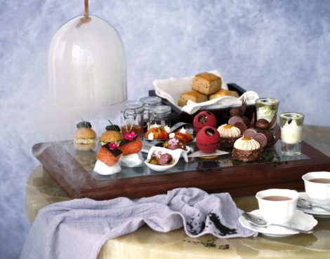 Enjoy a Romantic Afternoon Tea at the Lobby Lounge at Kerry Hotel: Feb 14-16