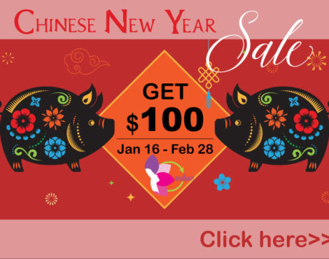 Win a $100 Chinese New Year Red Pocket from MindBeauty!