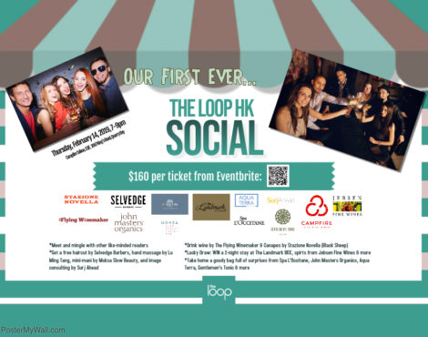 Hang Out and Win Fab Prizes at The Loop HK Social! February 14, 2019
