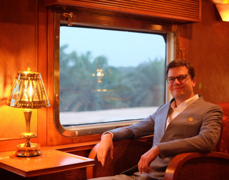 Travel Talk: Wolfgang Eipeldauer, Belmond Eastern & Oriental Express Train Manager