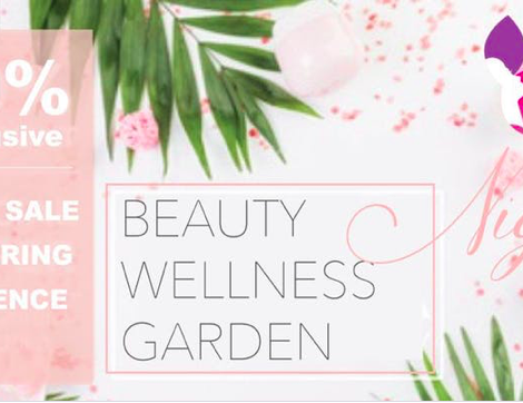 Enjoy Some Pampering at the Mindbeauty Beauty Wellness Garden: March 21