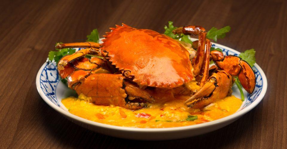 芒果樹黃咖喱炒蟹-Mango-Tree-Yello-Curry-Crab