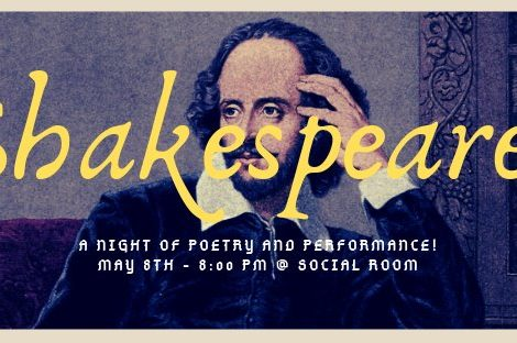 Peel Street Poetry: An Evening with The Bard: May 8