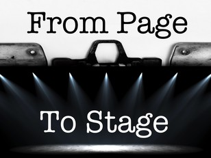 From Page To Stage: 10 Minute Play Festival: May 15-18