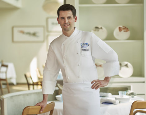 Dishin' the Dirt: RECH's Guillaume Katola on Cooking at the Highest Levels