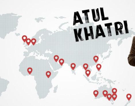 Atul Khatri Back in Hong Kong: June 8