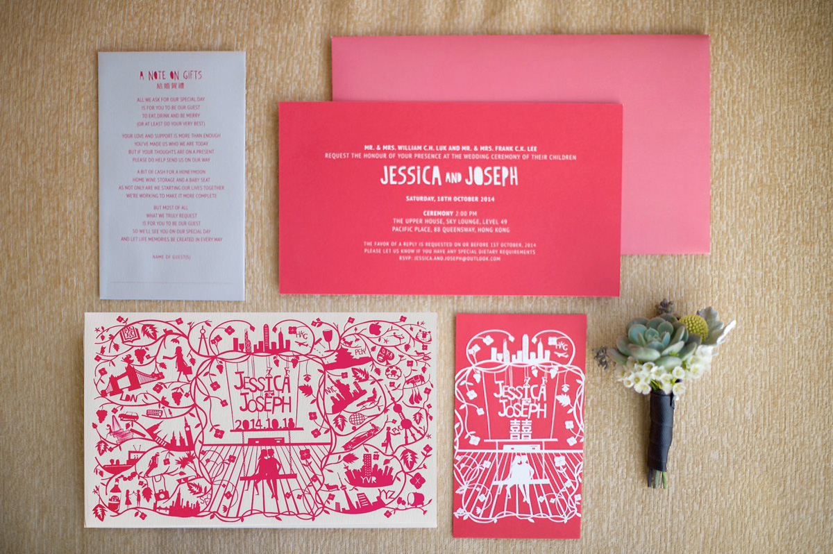 best bespoke wedding stationary services