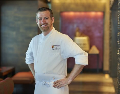 Dishin' the Dirt: NOBU's Rhys Cattermoul on Local Produce and Flavors