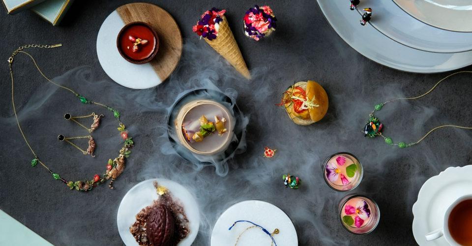 Lobby Lounge - the Garden Tea with Les Néréides