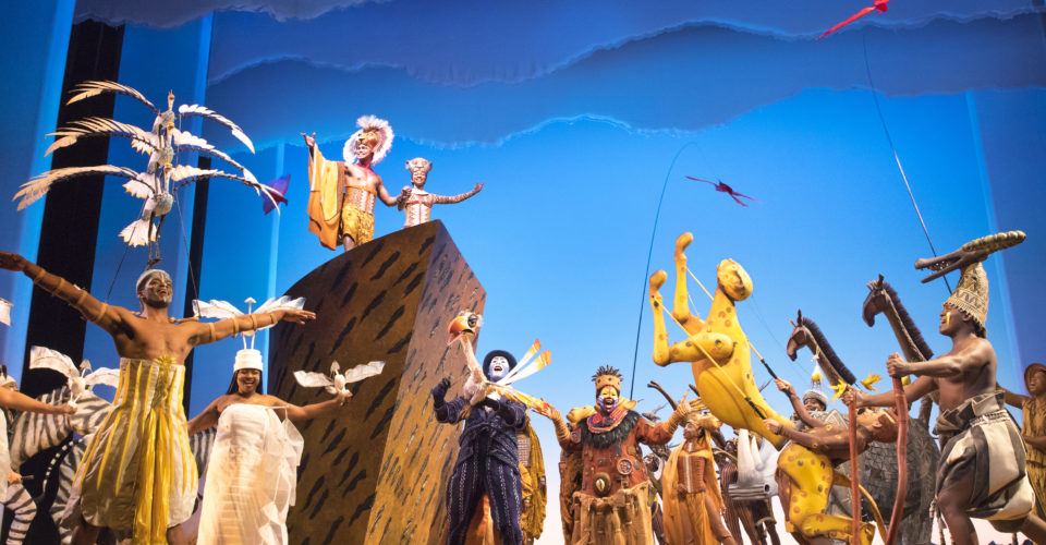 Circle of Life - THE LION KING - Company of the International Tour - Photo by Matthew Murphy © Disney