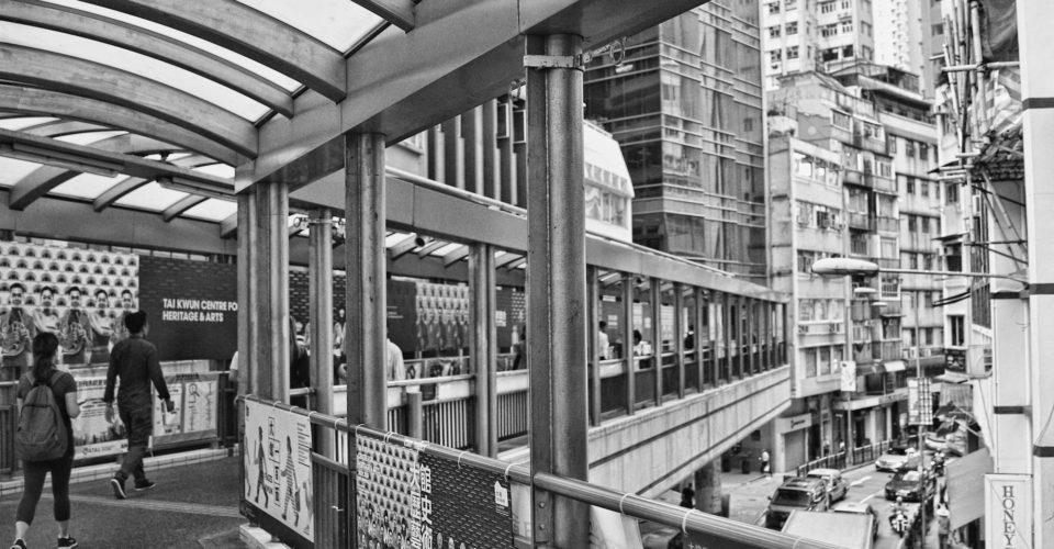 中央自动扶梯