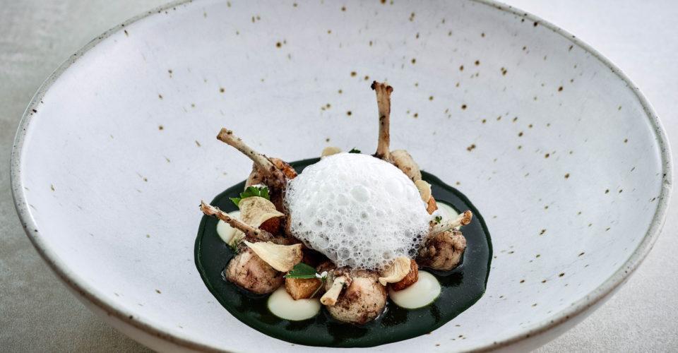 Louise_Sauteed Hong Kong frog legs, parsley, garlic crisps