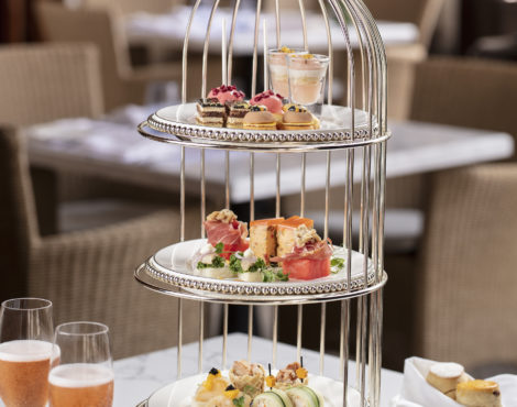 Afternoon Tea Set & Savory Gin Drinks at House 1881
