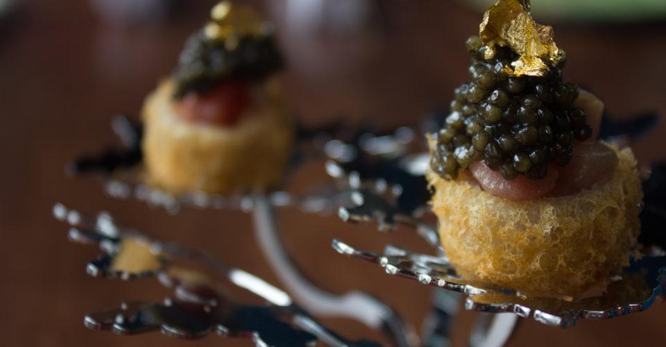 Caviar dim sum