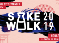 Raise Your Glass at Sake Walk 2019