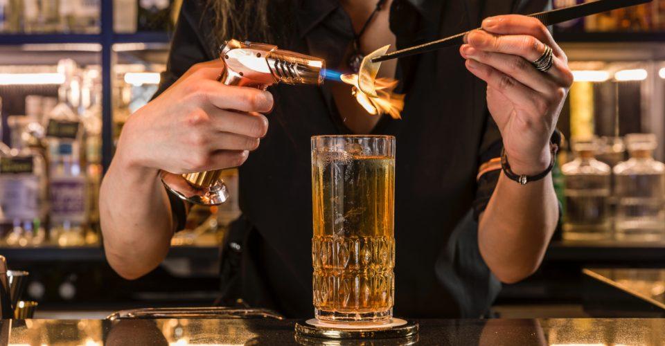 The ThirtySix - Behind the bar