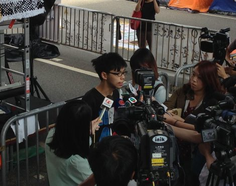 Activist Joshua Wong To Publish First Book In 2020
